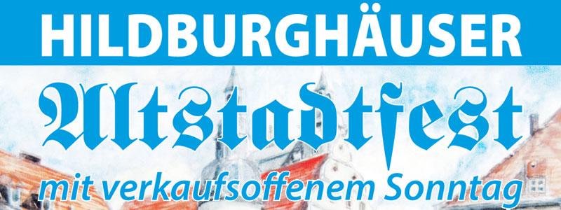 Verkaufsoffener Sonntag zum 9. Altstadtfest