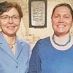 Gütesiegel Leseförderung von  Ministerin Taubert überreicht