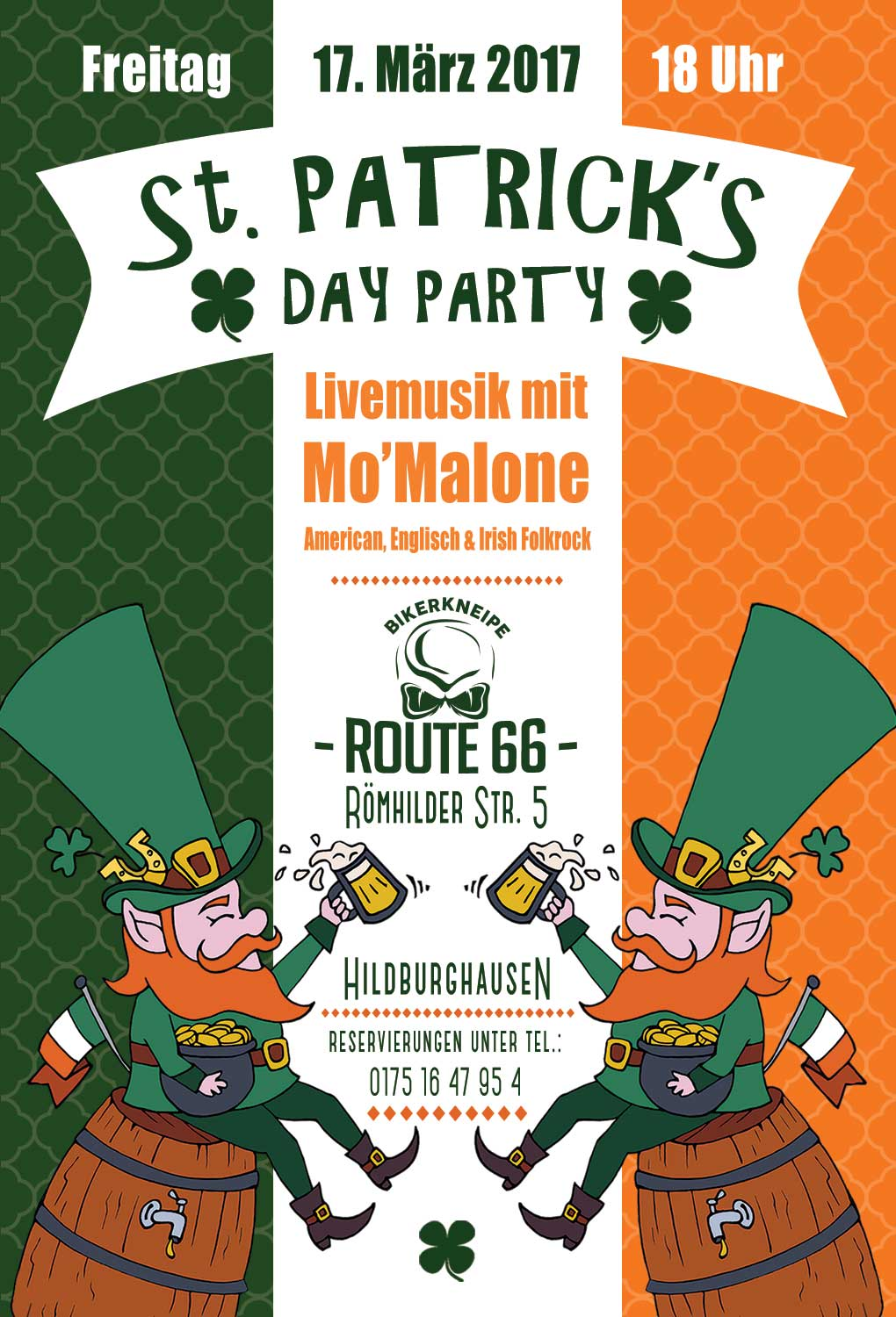 St. Patrick's Day Party im Route 66